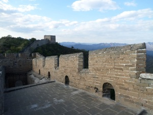 One will find the Great Wall at Jinshanling in a much greater state of repair than in other areas.
