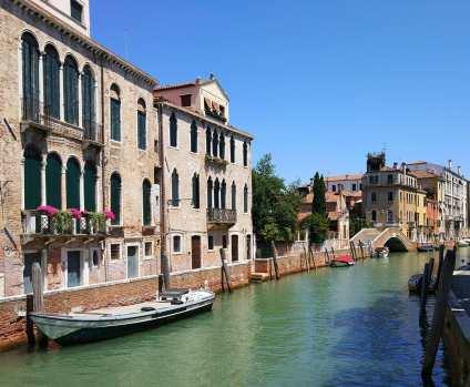 Venice canal in San Polo.