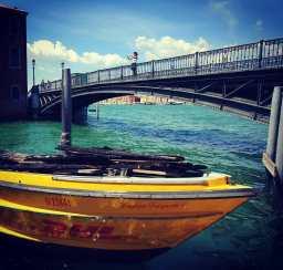 Venice by the bridge on Guidecca.