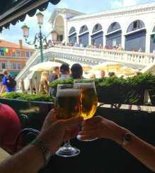 Venice by Realto Bridge in celebration.