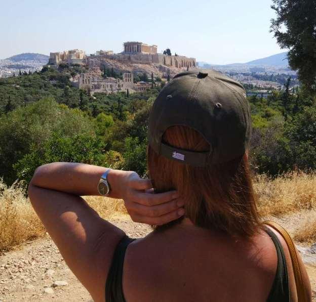 Zenita Nilsson in Athens.